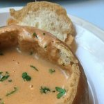 Shrimp and Cognac Bisque