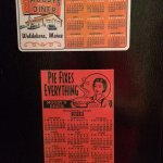 Moody's Diner Magnetic Calendars