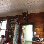 a buffalo must at the entrance