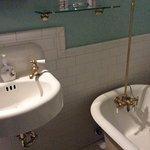 Sehr schönes antikes Badezimmer.