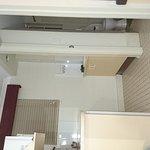 Kitchenette & room