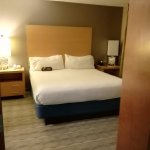great bed, and the room has an additional TV