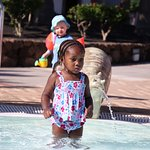 Picture in the Baby Pool taken by the hotel photographer