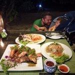Wonderful Fresh Seafood Dinner