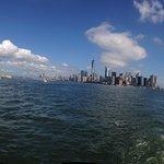 Tremendous views of the city skyline.