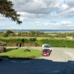 View from room looking over Dee to Wirral