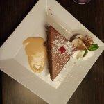 Croustillant au chocolat (dessert du jour)