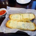 mozzarella garlic bread