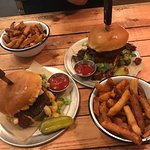 The Mac and bacon cheese burger. And chilli cheese burger (minus cheese as lactose intolerant)