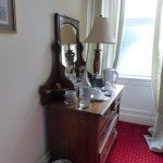 "Small ""ante-room"" between bedroom and ensuite. Kettle, carafe, cafetiere, hairdryer etc etc"
