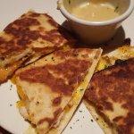 Chicken quesadilla very tasty