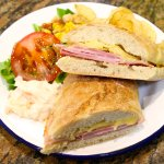Ham and Cheddar Ciabatta