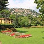 Cernobbio : Jardins de Villa d'Este.à Cernobbio.