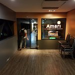 Access to Amari Don Muang Airport Bangkok via the bridge walkway.