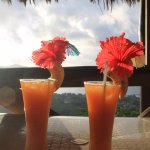 Sunset cocktails