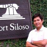 At Fort Siloso on Sentosa Island, Singapore