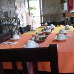 Isla Mujeres, Messico 2017 - Tavoli nel ristorante
