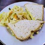 cafe's egg salad sandwich