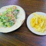 cesar salad wrap