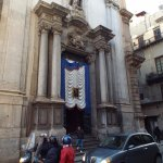Entrada a San Giuseppe dei Teatini, Palermo