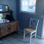 Cupboard & one single chair