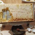 il miele direttamente dall'alverare!!!!