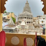 View of Jagdish Temple from Restaurant