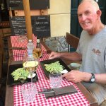 """Delicious afternoon """"pesto tasting"""" at the hotel owners nearby restaurant"""