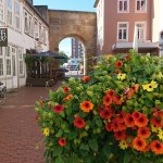 Das Heger Tor an einem sonnigen Herbsttag