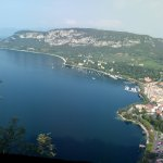 view of Garda from La Rocca