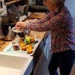 Jus de fruits frais pressés par la maitresse de maison