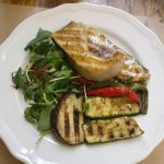 Swordfish and vege