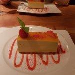 Passionfruit dessert, yummy! :)