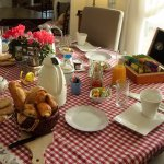 Table du petit déjeuner en intérieur