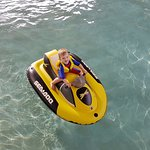 Mini JetSki Activity - great fun for our 3 year old