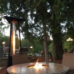 Fire pit table & Fire feature.