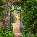 Gate into the walled garden