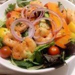 Tasty scampi/sea food salad