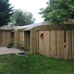 the log yurt