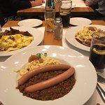 Lentil and Sausage Dish