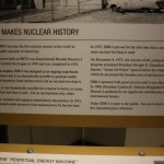 Info placard for the first reactor.