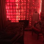 Massage in the Himalayan salt room is a must