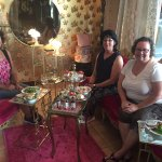Afternoon tea with friends in the tea room