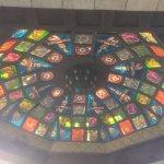 Приятно отделанные купола над пересечением рыночных улочек