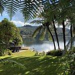 How listed as The Love Shack on lake Rotoiti, Rotorua district.