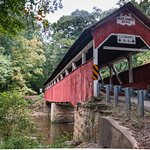 Nearby Lower Humbart covered bridge