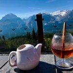 Hot Blue berry tea.. *Alcohol*