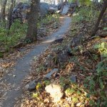 Partially Asphalted East Bluff Trail