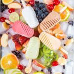 Nuestra diversidad de sabores en las paletas de fruta; como chontaduro,guanabana tamarindo con k