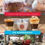 Algunas de nuestras especialidades en la linea de cafe y tortas